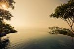 Salt water infinity pool, Anamaya Resort, Costa Rica