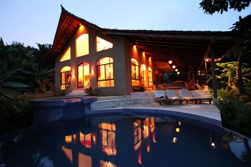 House and Pool, Anamaya Resort, Costa Rica